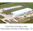 "TransTech Energy Acquires Tubular Structures International LLC (""TSI"")"