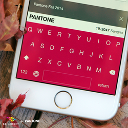The PANTONE Fall Color Collection - on Brightkey