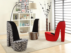 Oak Valley Decor High Heel Shoe Chair Collection