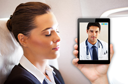 Telemedicine for holiday travelers