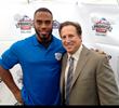 New York Giants Running Back Rashad Jennings Carries the Ball for...