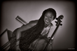 Cellist, composer, and arranger Akua Dixon.