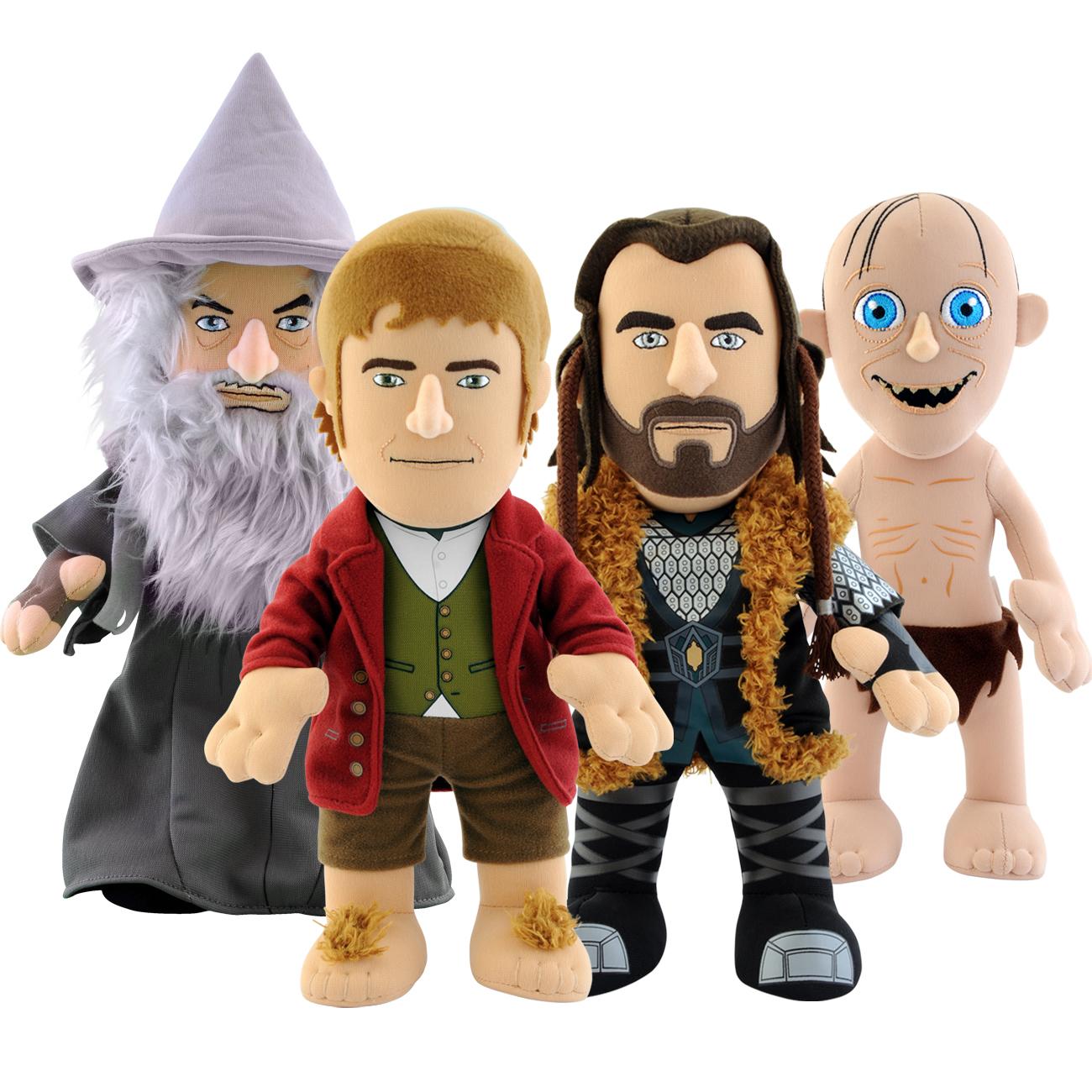 "Bleacher Creatures 10""The Hobbit Bilbo Bolseiro Boneca De Pelúcia-Novo"