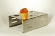 Custom pizza cones oven stand from PCI Frozen Foods