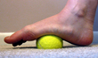 After a long day on your feet, treat them to a massage with a tennis ball, golf ball, or refloxology roller
