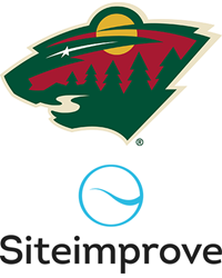Siteimprove and Minnesota Wild logos