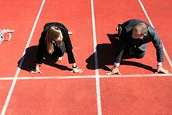 Competition gap between men and women