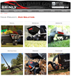 Leading Lawn and Garden Attachment Manufacturer Overhauls Website