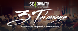 SEJ Summit presented by Searchmetrics, an invite-only conference series for enterprise marketers