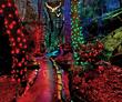 Enchanted Garden of Lights at Rock City Gardens