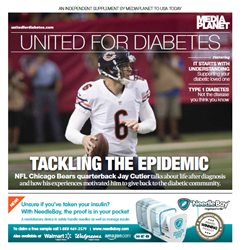 """Look out for """"United for Diabetes"""" on newsstands within USA Today November 21st!"""