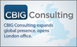 CBIG Consulting Brings Big Data Solutions to UK, Opens London Office