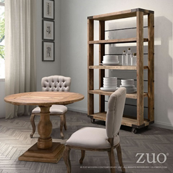 Zuo Modern 98304 Newcomb Wide 4 Level Shelf