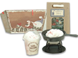 Country Christmas Candle Set