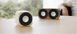 The Q aptX® series of Handcrafted, Solid Wood Bluetooth® Sound Systems from Vers Inc.