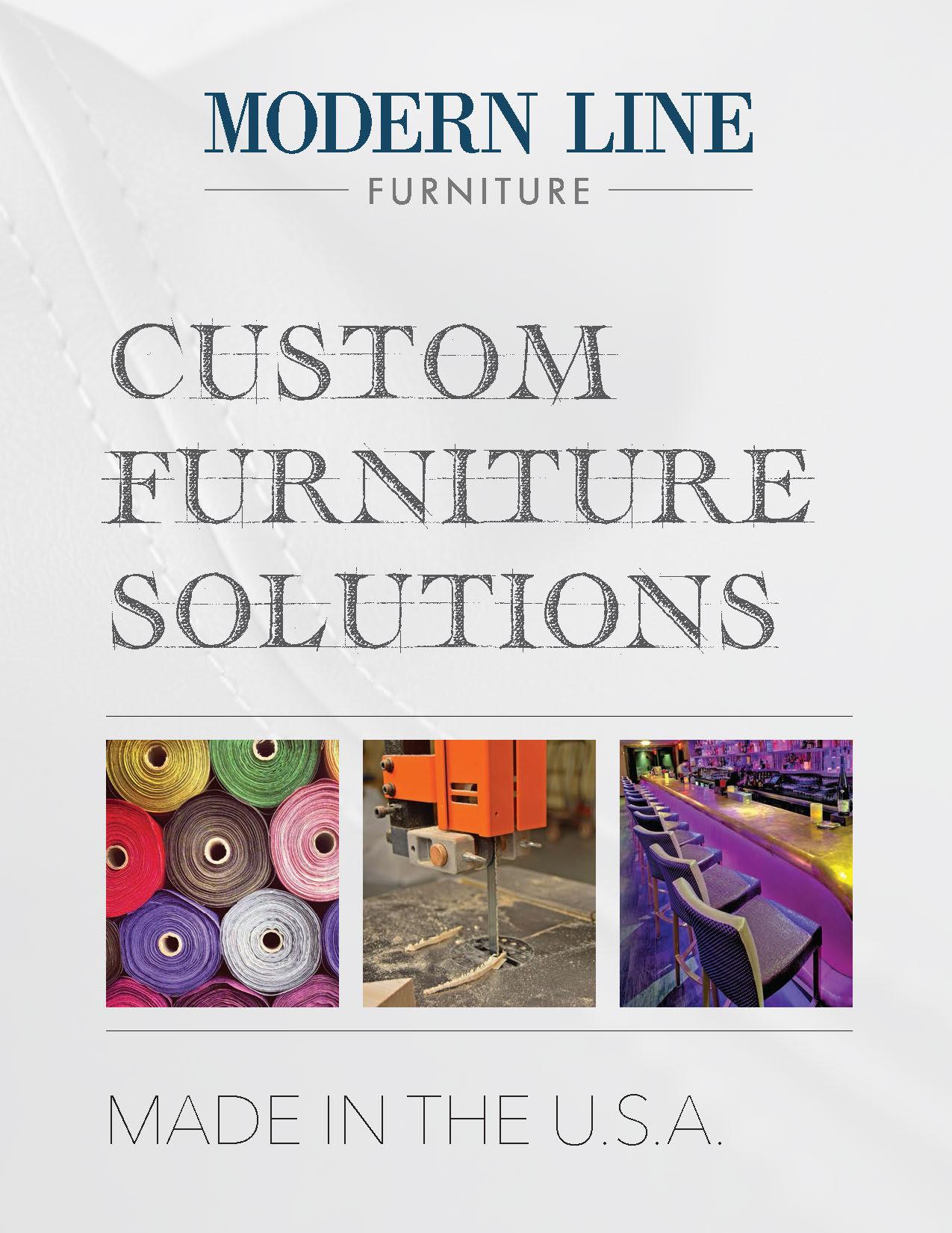 Contemporary Custom Made Furniture Leader Modern Line Furniture