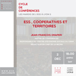 """""""Les mardis de l'ESS à Lyon 2"""" - L'ESS,..."""