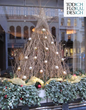 Hotel Christmas Trees and hotel flower arrangements for hotels in London UK. Christmas floral arrangements for hotels, hotel lobby flower arrangements, artificial flowers for hotels. Artificial Christmas trees and Christmas decorations for hotels.