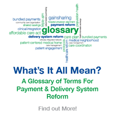 Pershing Yoakley & Associates provides a reference guide with A Glossary of Terms For Payment & Delivery System Reform
