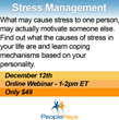 Feeling the Effects of Holiday Stress? PeopleKeys Aims to Make Stress...