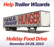 Trailer Wizards 'Haul Away Hunger' again during their annual Holiday...