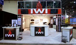 IWI trade show booth design by Xibit Solutions