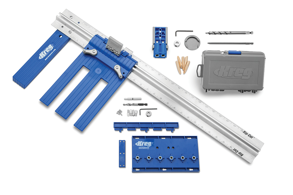 Top 6 holiday gifts for do it yourselfers rockler announces kreg diy project kit 51782 9900 solutioingenieria Choice Image