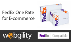 Webgility Provides Fedex One Rate for E-commerce Through Its FedEx Integration