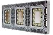 Explosion Proof I-Beam Mount Light Fixture that provides 37,500 lumens of light