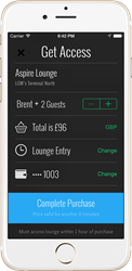 LoungeBuddy Instant Lounge Booking