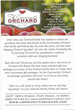 2014 Community Orchard Gift Boxes
