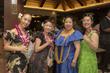 Some of Kumu Hula Kaleinani's longtime hula students and special friends