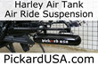 Harley Air Tank - Air Ride Suspension For Baggers And Custom Bikes By...
