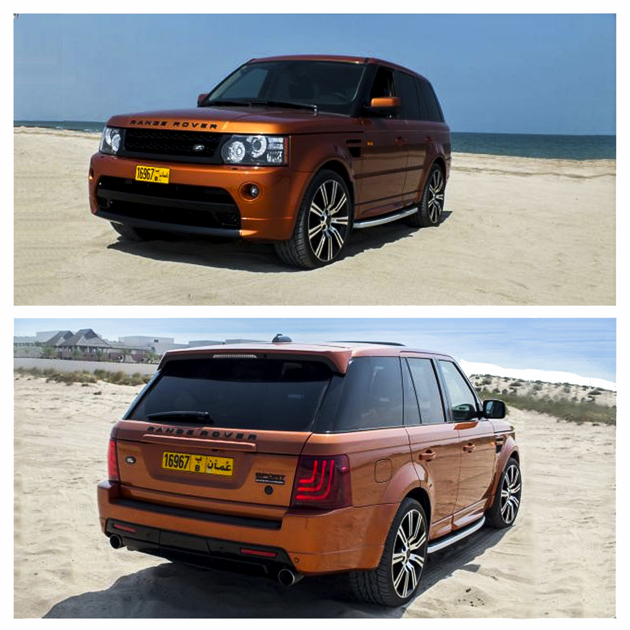new car launches of 2014Successful launch of new taillight for the Range Rover Sport is