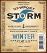Newport Storm Brewery Winter Porter