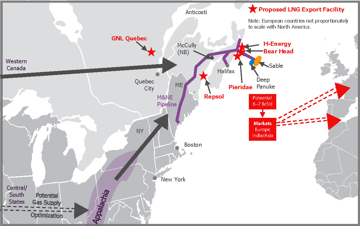 Ziff Energy Releases Summary Of Eastern Canadian Lng