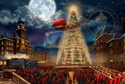 """The Polar Express"" Limited Edition art from the Thomas Kinkade Studios"