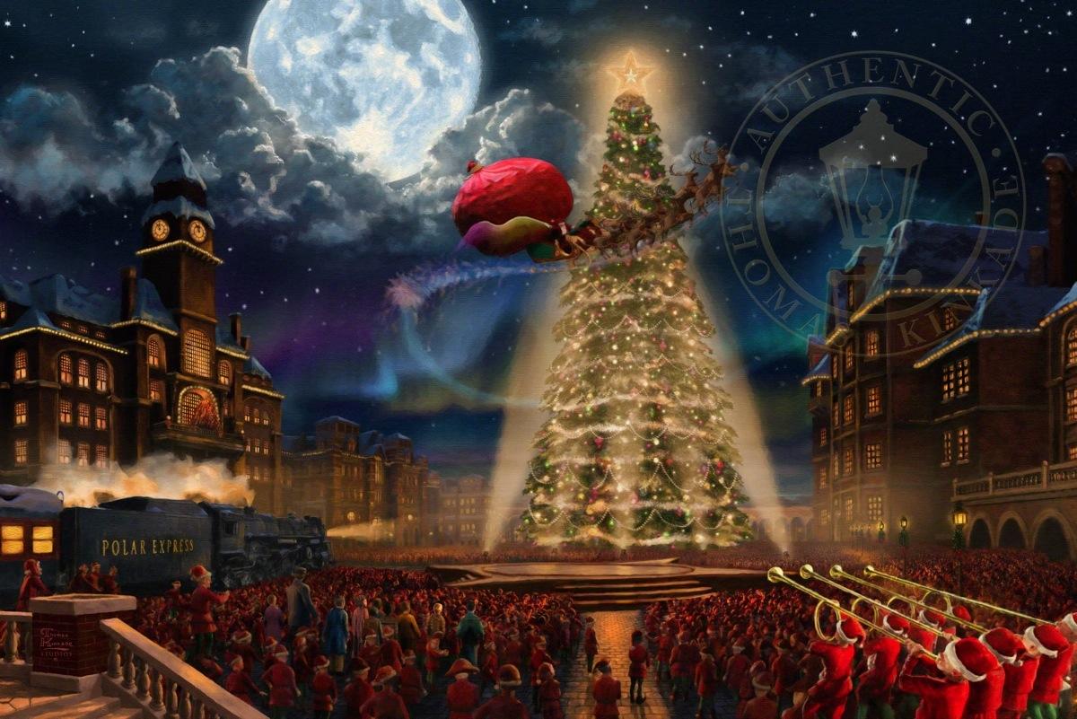 Village Christmas Tree