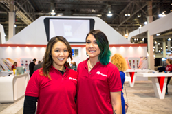 Booth Staffing Provided by Absolute Exhibits
