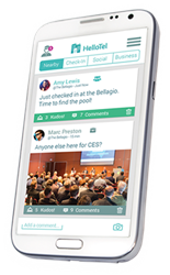 HelloTel App - The Travelers Social Network