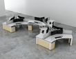 Innovant Releases New FORm_office™ 120° Benching with Integrated...