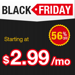 Web Hosting Black Friday Sales