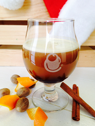 Hopped Holiday Nitro cold brew coffee from Crimson Cup Coffee & Tea