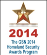 Platinum Winner GSN 2014 Homeland Security Awards