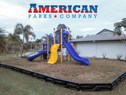 Kampgrounds of America site in Florida purchase commercial play structure from American Parks Company