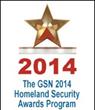 Platinum Winner GSN 2014 Homeland Security Awards