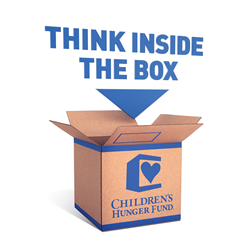 Children's Hunger Fund's new initiative, Think Inside the Box