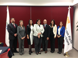 SDI and TecMilenio representatives met to mark the official start of their strategic alliance.