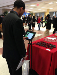 Career fairs are paperless when companies use Recsolu