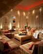 JW Marriott Desert Springs Spa Coed Lounge Red